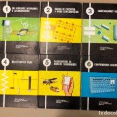 Enciclopedias de segunda mano: ENCICLOPEDIA DE LA ELECTRÓNICA MAYMO. PRIMEROS 6 TOMOS. EDITORIAL ELPO 1968. VER DESCRIPCIÓN.. Lote 154952766