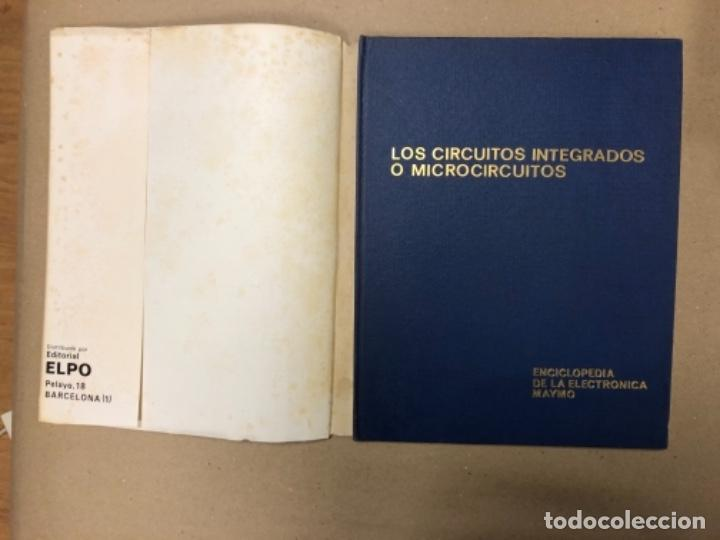 Enciclopedias de segunda mano: ENCICLOPEDIA DE LA ELECTRÓNICA MAYMO. PRIMEROS 6 TOMOS. EDITORIAL ELPO 1968. VER DESCRIPCIÓN. - Foto 2 - 154952766
