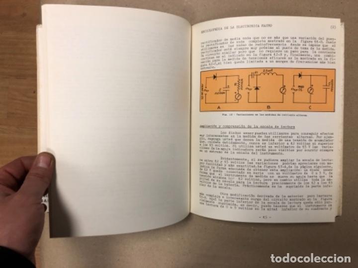 Enciclopedias de segunda mano: ENCICLOPEDIA DE LA ELECTRÓNICA MAYMO. PRIMEROS 6 TOMOS. EDITORIAL ELPO 1968. VER DESCRIPCIÓN. - Foto 12 - 154952766