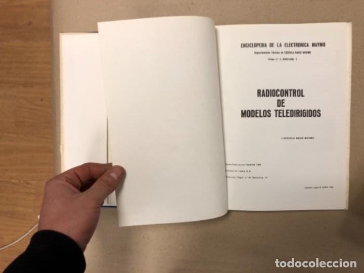 Enciclopedias de segunda mano: ENCICLOPEDIA DE LA ELECTRÓNICA MAYMO. PRIMEROS 6 TOMOS. EDITORIAL ELPO 1968. VER DESCRIPCIÓN. - Foto 25 - 154952766