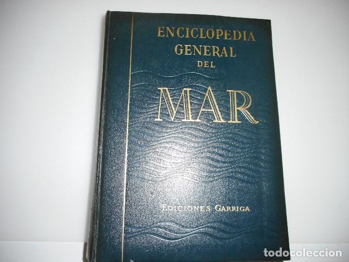 Enciclopedias de segunda mano: JOSÉ Mª MARTÍNEZ-HIDALGO Y TERÁN Enciclopedia general del mar(8 tomos + apéndice) Y93031 - Foto 2 - 155242506