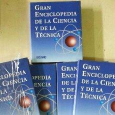 Enciclopedias de segunda mano: GRAN ENCICLOPEDIA DE LA CIENCIA Y LA TÉCNICA - 12 TOMOS - ED. OCEANO - AÑO 1996. Lote 155277058