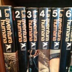 Enciclopedias de segunda mano: LA AVENTURA HUMANA. Lote 155336632