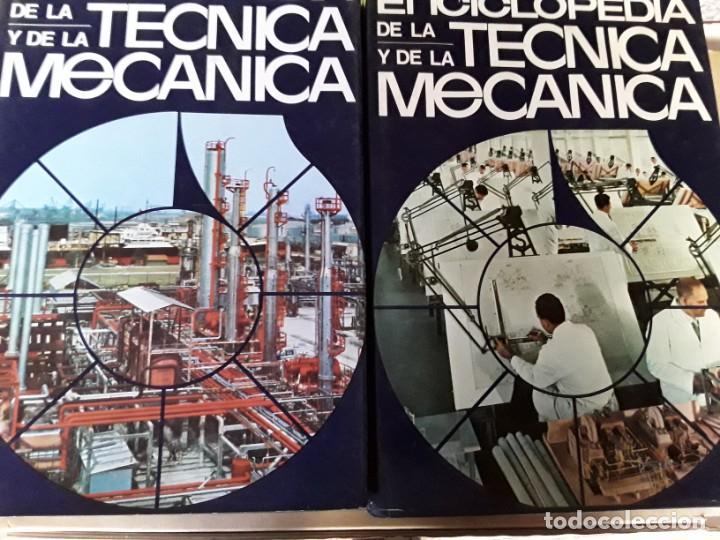Enciclopedias de segunda mano: 8 enciclopedias de la técnica y de la mecánica - Foto 2 - 155504998