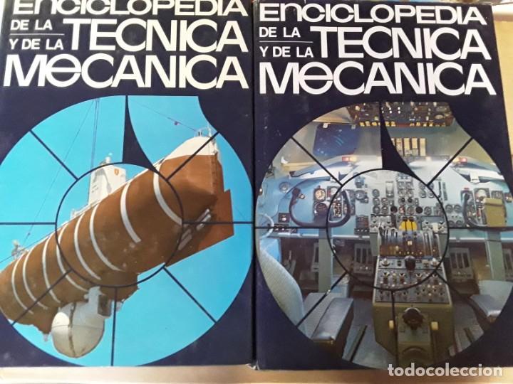 Enciclopedias de segunda mano: 8 enciclopedias de la técnica y de la mecánica - Foto 3 - 155504998