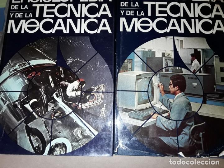 Enciclopedias de segunda mano: 8 enciclopedias de la técnica y de la mecánica - Foto 4 - 155504998