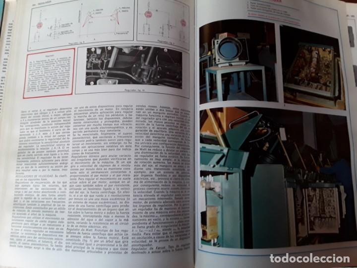 Enciclopedias de segunda mano: 8 enciclopedias de la técnica y de la mecánica - Foto 7 - 155504998