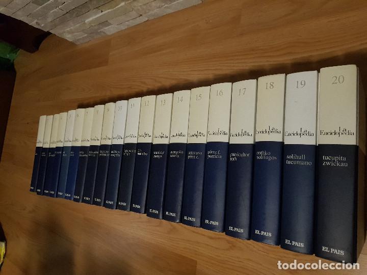 Enciclopedias de segunda mano: LA ENCICLOPEDIA - 20 TOMOS / COMPLETA - SALVAT / El PAIS EDICION 2003 - EXCELENTE ESTADO. - Foto 2 - 155530014