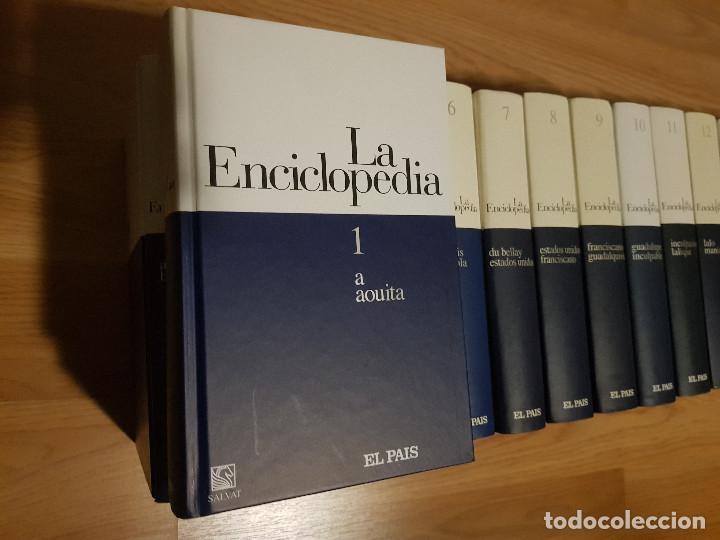 Enciclopedias de segunda mano: LA ENCICLOPEDIA - 20 TOMOS / COMPLETA - SALVAT / El PAIS EDICION 2003 - EXCELENTE ESTADO. - Foto 4 - 155530014