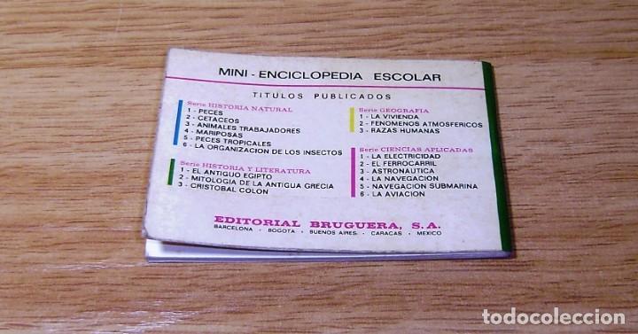 Enciclopedias de segunda mano: Mitologia de Grecia,.Mini enciclopedia escolar,serie historia y literatura nº 2, Bruguera, 1970 - Foto 2 - 155540698