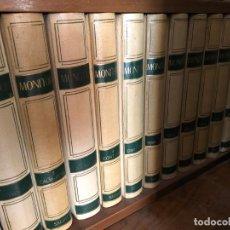 Enciclopedias de segunda mano: ENCICLOPEDIA MONITOR SALVAT , AÑO 1.965. Lote 155597386