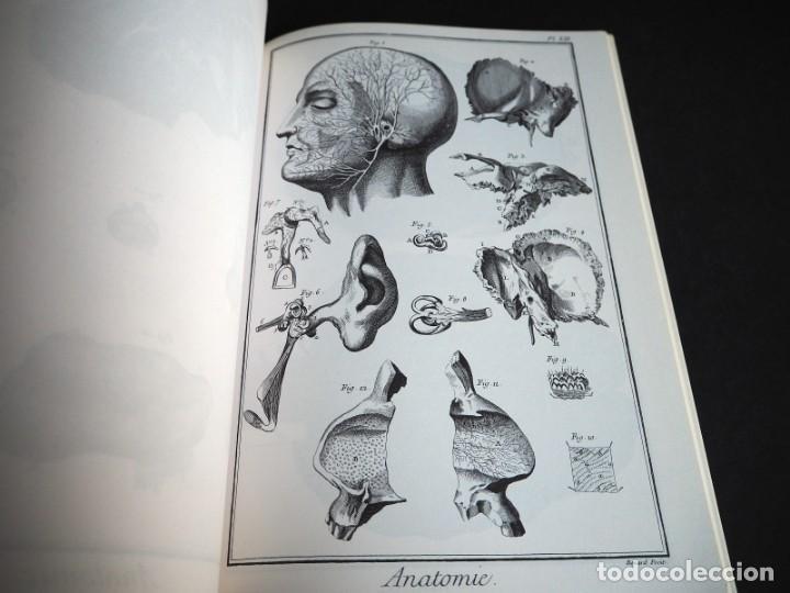 Enciclopedias de segunda mano: LENCYCLOPEDIE DIDEROT ET DALAMBERT. ANATOMIE. INTER LIVRES. 1994. - Foto 4 - 155782346