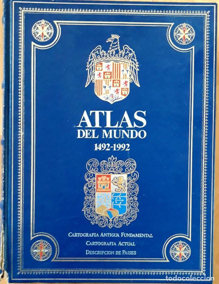 GRAN ATLAS DEL MUNDO 1492/1992 - CARTOGRAFIA ANTIGUA Y ACTUAL (Gebrauchte Bücher - Enzyklopädien)