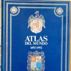 Enciclopedias de segunda mano: GRAN ATLAS DEL MUNDO 1492/1992 - CARTOGRAFIA ANTIGUA Y ACTUAL. Lote 155807794