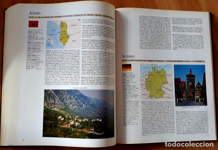Enzyklopädien aus zweiter Hand: GRAN ATLAS DEL MUNDO 1492/1992 - CARTOGRAFIA ANTIGUA Y ACTUAL - Foto 4 - 155807794