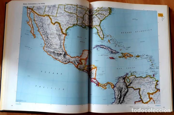 Enzyklopädien aus zweiter Hand: GRAN ATLAS DEL MUNDO 1492/1992 - CARTOGRAFIA ANTIGUA Y ACTUAL - Foto 6 - 155807794