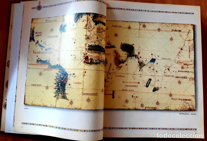 Enzyklopädien aus zweiter Hand: GRAN ATLAS DEL MUNDO 1492/1992 - CARTOGRAFIA ANTIGUA Y ACTUAL - Foto 9 - 155807794