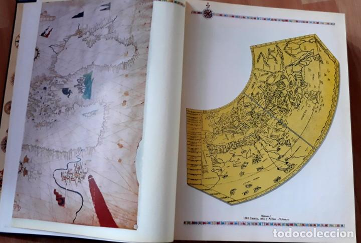 Enzyklopädien aus zweiter Hand: GRAN ATLAS DEL MUNDO 1492/1992 - CARTOGRAFIA ANTIGUA Y ACTUAL - Foto 10 - 155807794