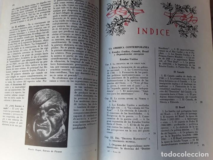 Enciclopedias de segunda mano: 10 tomos de la enciclopedia uteha para la juventud, del año 1960,ver fotos - Foto 7 - 155812322