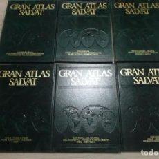 Enciclopedias de segunda mano: GRAN ATLAS SALVAT EDICIONES PAMPLONA - 6 TOMOS - (1-2-3-4-5-6). Lote 155919178