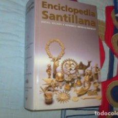 Enciclopedias de segunda mano: ENCICLOPEDIA SANTILLANA , DATOS , HECHOS Y NOMBRES IMPRESCINDIBLES. Lote 155937358