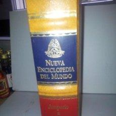 Enciclopedias de segunda mano: NUEVA ENCICLOPEDIA DEL MUNDO AMPERIO A AVILES TOMO II. Lote 155978598
