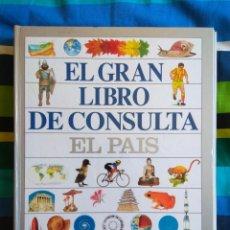 Enciclopedias de segunda mano: EL GRAN LIBRO DE CONSULTA - EL PAÍS /ALTEA - COMPLETO Y SIN ENCUADERNAR. Lote 156140974