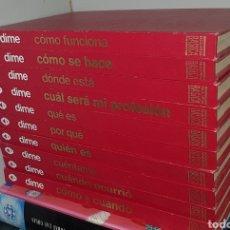 Enciclopedias de segunda mano: ENCICLOPEDIA BASICA DIME -- COMPLETA 10 TOMOS -- EDITORIAL ARGOS - AÑOS 80 - ARM02. Lote 156735262