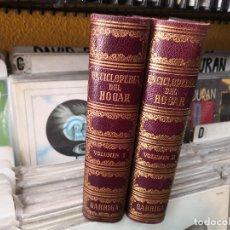 Enciclopedias de segunda mano: ENCICLOPEDIA DEL HOGAR,2 TOMOS,GARRIGA,1961. Lote 156986746