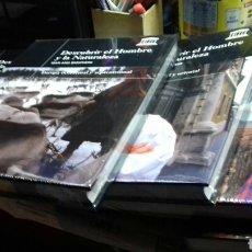 Enciclopedias de segunda mano: DESCUBRIR EL HOMBRE Y LA NATURALEZA. UNESCO. 8 TOMOS + 12 DVD. COMPLETA. Lote 158452097