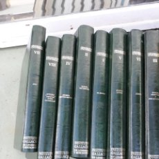 Enciclopedias de segunda mano: 2 TOMOS GEOGRAFIA UNIVERSAL. Lote 159232734