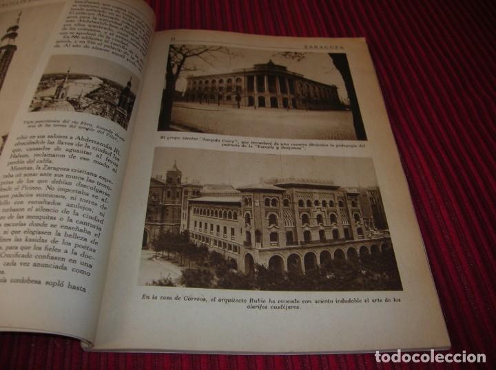 Enciclopedias de segunda mano: Muy interesante y antiguo libro Enciclopedia Gráfica .Zaragoza.Por J.Garcia Mercadal. - Foto 4 - 159263562