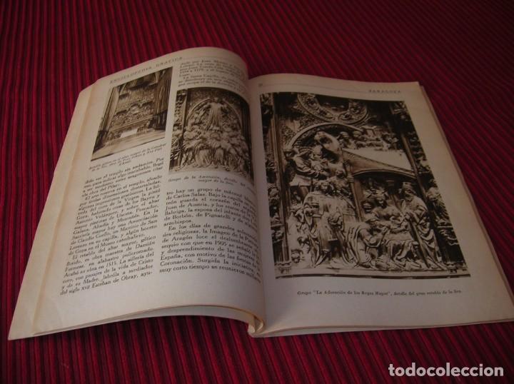 Enciclopedias de segunda mano: Muy interesante y antiguo libro Enciclopedia Gráfica .Zaragoza.Por J.Garcia Mercadal. - Foto 5 - 159263562