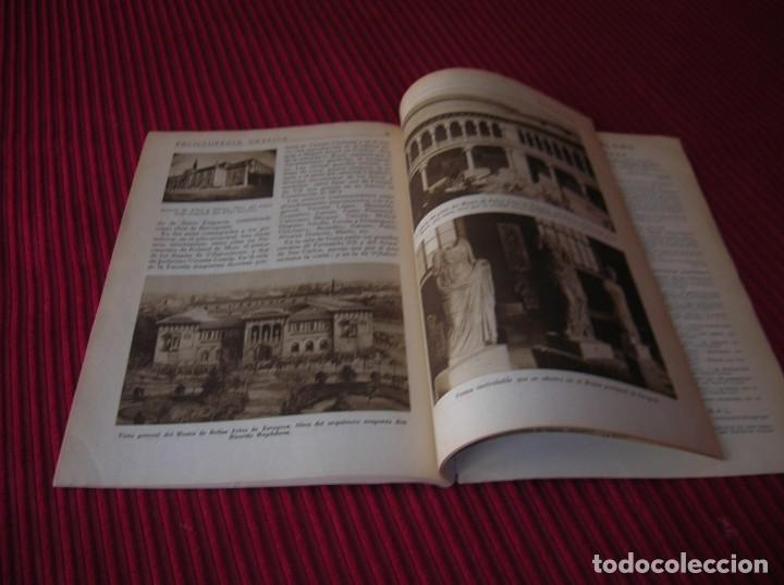 Enciclopedias de segunda mano: Muy interesante y antiguo libro Enciclopedia Gráfica .Zaragoza.Por J.Garcia Mercadal. - Foto 6 - 159263562