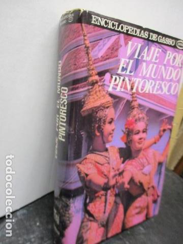 Enciclopedias de segunda mano: VIAJE POR EL MUNDO PINTORESCO. EDC GASSO - Foto 2 - 159696238