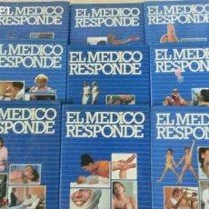 Enciclopedias de segunda mano - ENCICLOPEDIA - EL MEDICO RESPONDE - 9 TOMOS - PLANETA-DE AGOSTINI - AÑO 1986 - 159746438