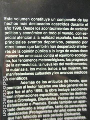 Enciclopedias de segunda mano: LAROUSSE 2000 / TOMO ACTUALIZACIÓN 1999 / LAROUSSE - PLANETA 1999 - Foto 5 - 159798962
