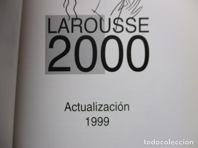 Enciclopedias de segunda mano: LAROUSSE 2000 / TOMO ACTUALIZACIÓN 1999 / LAROUSSE - PLANETA 1999 - Foto 8 - 159798962