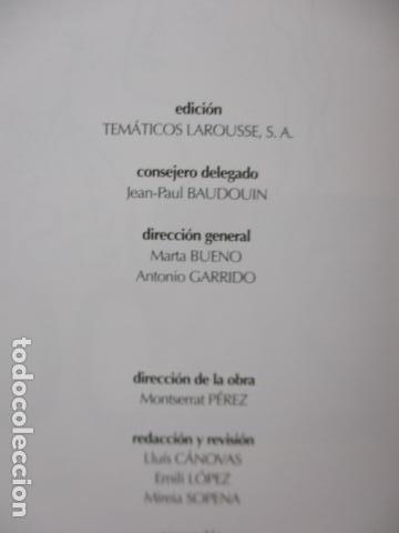 Enciclopedias de segunda mano: LAROUSSE 2000 / TOMO ACTUALIZACIÓN 1999 / LAROUSSE - PLANETA 1999 - Foto 9 - 159798962