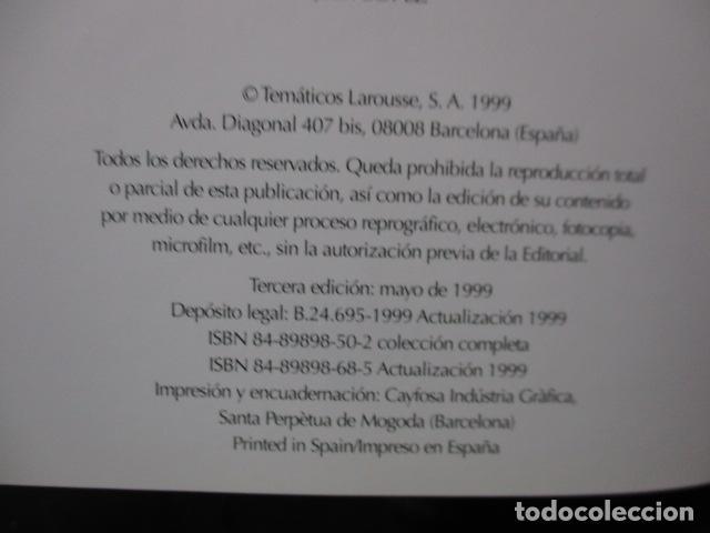 Enciclopedias de segunda mano: LAROUSSE 2000 / TOMO ACTUALIZACIÓN 1999 / LAROUSSE - PLANETA 1999 - Foto 11 - 159798962