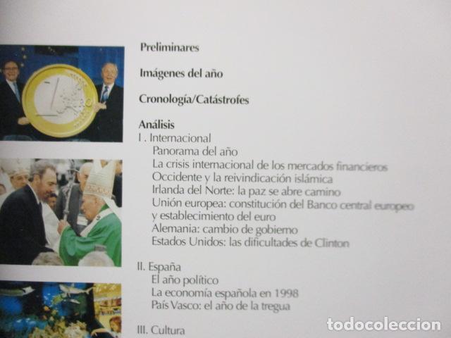 Enciclopedias de segunda mano: LAROUSSE 2000 / TOMO ACTUALIZACIÓN 1999 / LAROUSSE - PLANETA 1999 - Foto 12 - 159798962