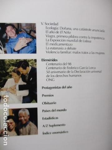 Enciclopedias de segunda mano: LAROUSSE 2000 / TOMO ACTUALIZACIÓN 1999 / LAROUSSE - PLANETA 1999 - Foto 14 - 159798962