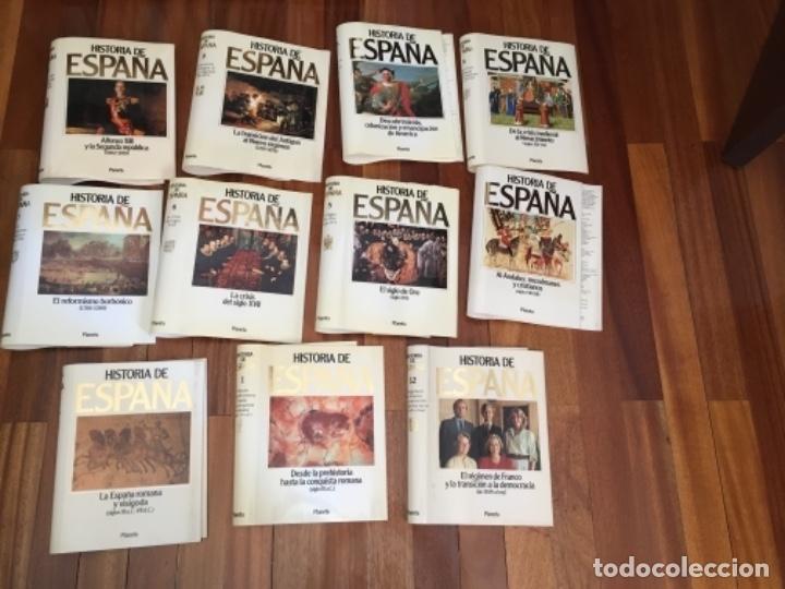 Enciclopedias de segunda mano: HISTORIA DE ESPAÑA. OBRA EN 12 TOMOS DE EDITORIAL PLANETA, 1990. - Foto 8 - 153789714