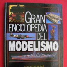Libri di seconda mano: GRAN ENCICLOPEDIA DEL MODELISMO - DIORAMAS FANTASTICOS - NUEVA LENTE 1987.. Lote 159899318