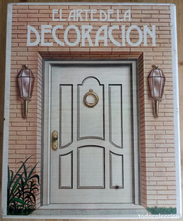 EL ARTE DE LA DECORACION - 6 LIBROS - VER DESCRIPCION Y FOTOS - MUNDILIBROS 1987 (Libros de Segunda Mano - Enciclopedias)