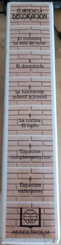 Enciclopedias de segunda mano: EL ARTE DE LA DECORACION - 6 LIBROS - VER DESCRIPCION Y FOTOS - MUNDILIBROS 1987 - Foto 3 - 159940494