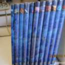 Enciclopedias de segunda mano: EL MUNDO SUBMARINO - ENCICLOPEDIA RUEDA - 10 TOMOS Y 6 DVDS. COMPLETA. CON PRECINTO NUEVA. . Lote 160603238