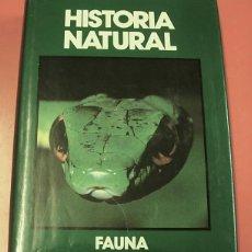 Enciclopedias de segunda mano: LIBRO TOMO HISTORIA NATURAL FAUNA ANIMALES TERRESTRES Y ANFIBIOS 1991 EXCELENTE. Lote 160838358