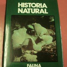 Enciclopedias de segunda mano: LIBRO TOMO HISTORIA NATURAL FAUNA ANIMALES ACUATICOS 1991 EXCELENTE. Lote 160838706