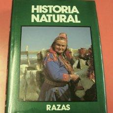 Enciclopedias de segunda mano: LIBRO TOMO HISTORIA NATURAL RAZAS Y CULTURAS RAZAS HUMANAS EUROPA 1991 EXCELENTE. Lote 160839342